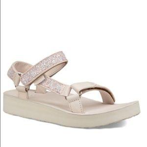 Teva Pink Tint Midform Universal Glam Sandal